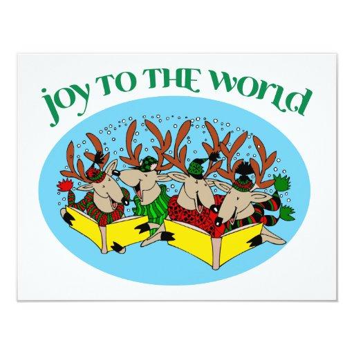 Reindeer Choir - Joy to the World Custom Announcement