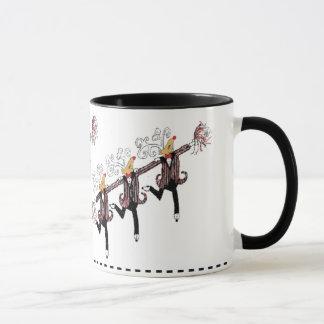 Reindeer Chorus Line Mug
