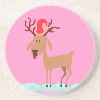 Reindeer - Christmas Coaster / Untersetzer