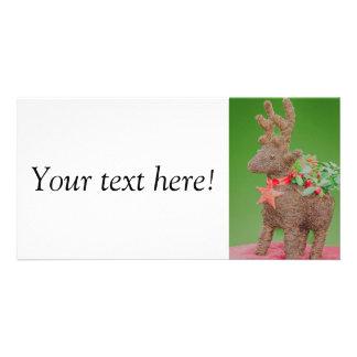 Reindeer Christmas decoration Card