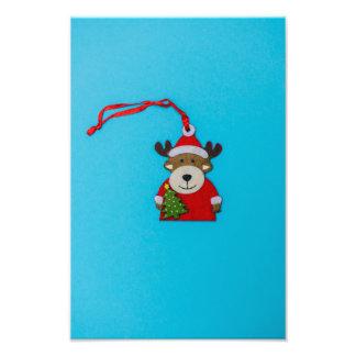 Reindeer Christmas decoration Photo Print