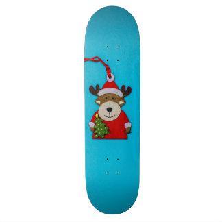 Reindeer Christmas decoration Skateboard