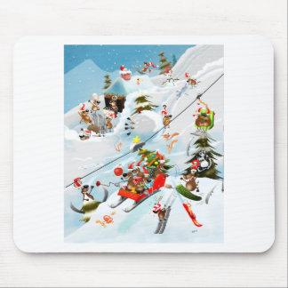 Reindeer Christmas Fun Mouse Pad
