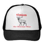 Reindeer Christmas Meat.png Trucker Hat