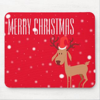 Reindeer Christmas Mousepad
