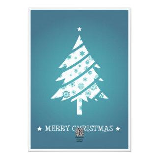 Reindeer & Christmas Tree Card