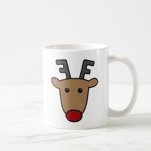 Reindeer Coffee Mugs