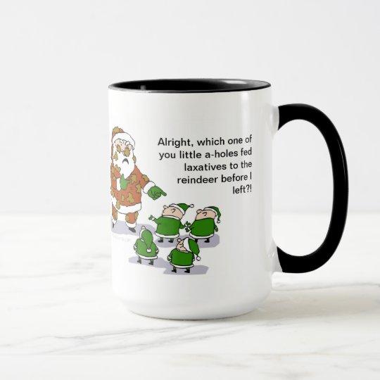 Reindeer Crap Mug