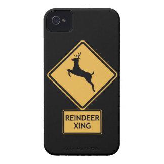 reindeer crossing iPhone 4 cover