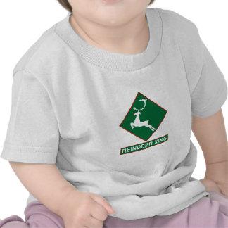 Reindeer Crossing (X-mas Colors) T Shirt