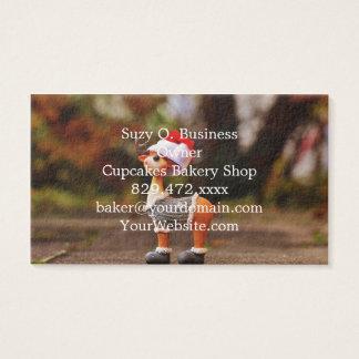 Reindeer decorations - christmas reindeer business card