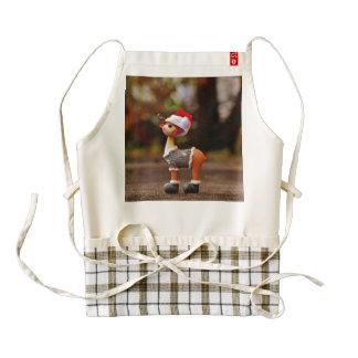 Reindeer decorations - christmas reindeer zazzle HEART apron