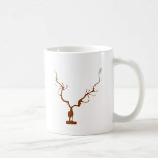 reindeer deer bird mugs