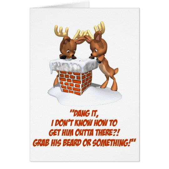 Reindeer Dilemma Card