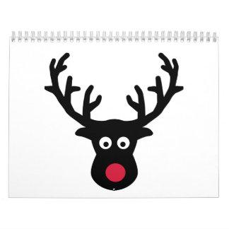 Moose Calendars And Moose Wall Calendar Template Designs