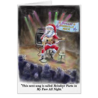 Reindeer Farts Greeting Card