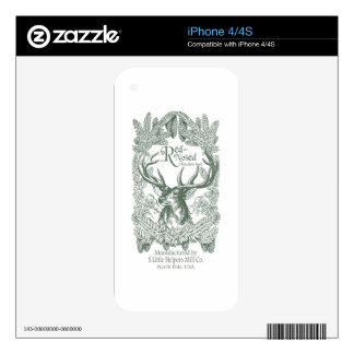 Reindeer Feed Skin For The iPhone 4