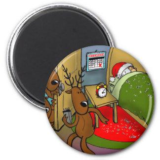 reindeer games 2 2 inch round magnet