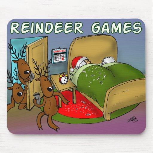 reindeer games 2 mouse pad