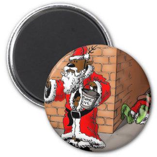 reindeer games 4 2 inch round magnet