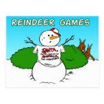 reindeer games postcard