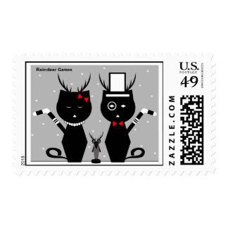 Reindeer Games Stamps