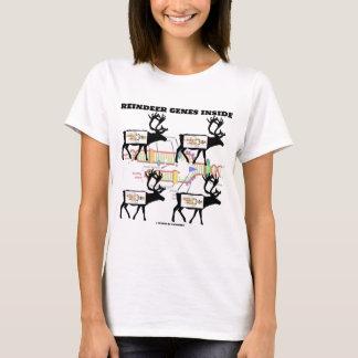 Reindeer Genes Inside Molecular Biology Geek Humor T-Shirt