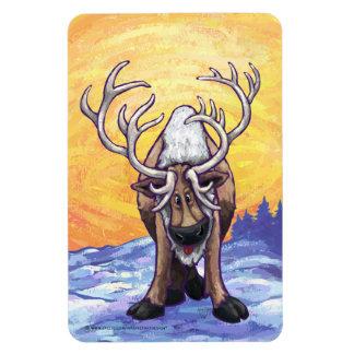 Reindeer Gifts & Accessories Rectangular Photo Magnet