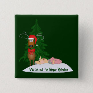 Reindeer Going Rogue Button