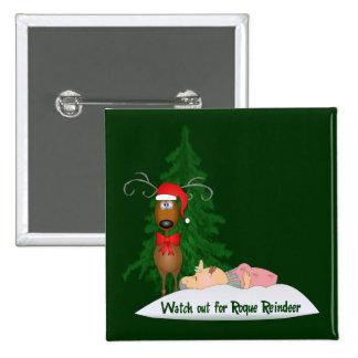 Reindeer Going Rogue Button