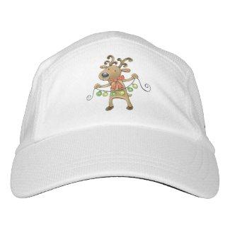 Reindeer Headsweats Hat