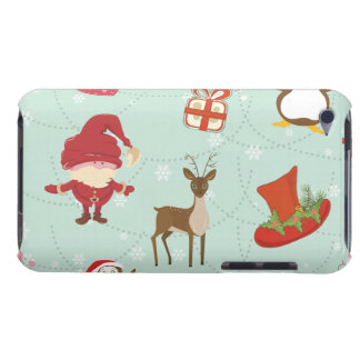 Reindeer Holiday Barely There iPod Cover