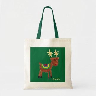 Reindeer- holiday gift bag