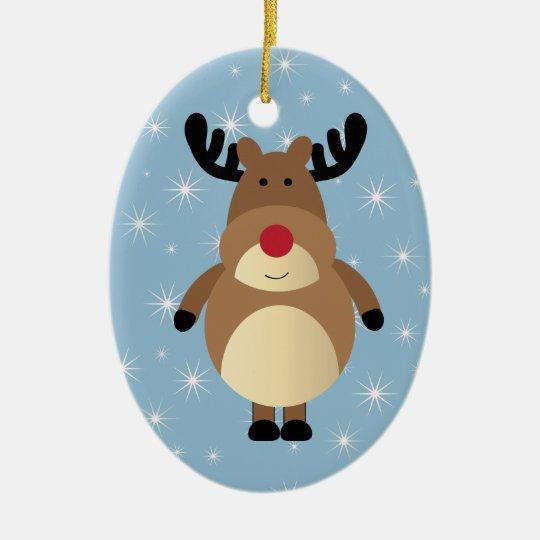 Reindeer Holiday Ornament