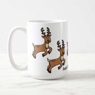 Reindeer - Just Prance Holiday Mug