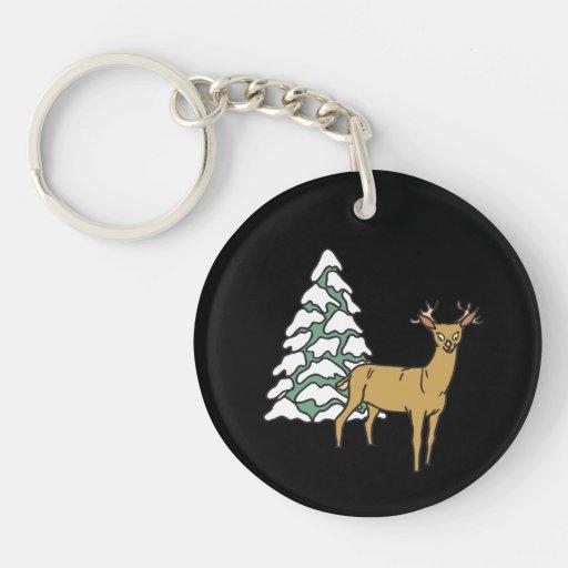 Reindeer Keychains