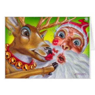 reindeer_kiss greeting cards