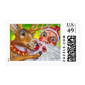 reindeer_kiss postage