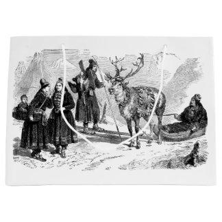Reindeer Large Gift Bag