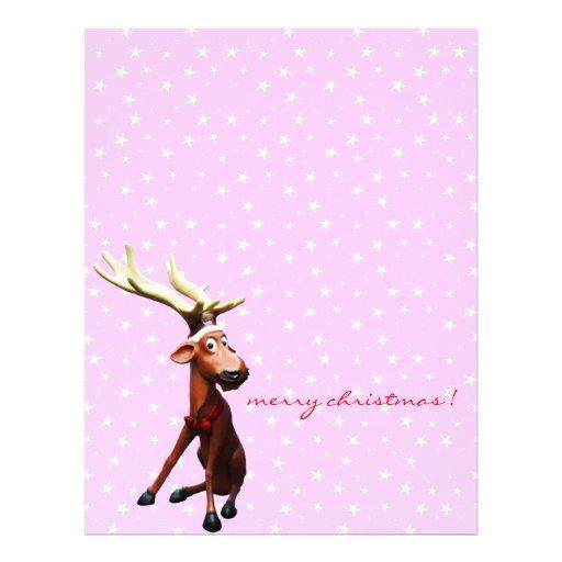 reindeer letterhead