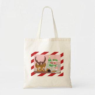 Reindeer Love Cookies Tote Bag