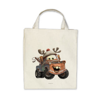 Reindeer Mater Canvas Bag