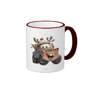 Reindeer Mater Ringer Coffee Mug