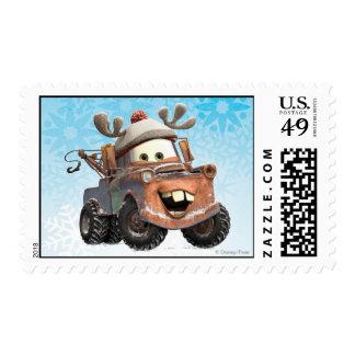 Reindeer Mater Postage Stamp