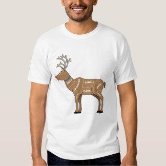 Reindeer Meat for Christmas Tee Shirt