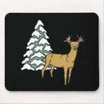 Reindeer Mouse Pad