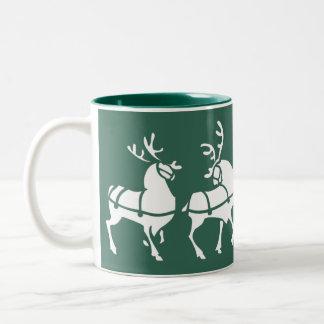 Reindeer Mug Coffee Cup Custom Christmas Decor