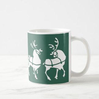 Reindeer Mug Coffee Cup Festive Christmas Gifts