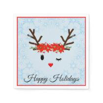 Reindeer Paper Napkins