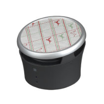Reindeer Pattern Bluetooth Speaker